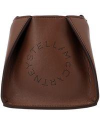 Stella McCartney Other Materials Shoulder Bag - Brown