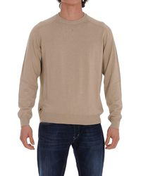 Woolrich Crewneck Knit Pullover - Natural