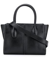 Tod's Top Handle Tote Bag - Black