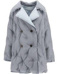 Maison Margiela Reversible Down Jacket S Technical - Grey