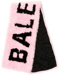 Balenciaga Giant Logo Scarf - Pink