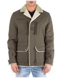 Valentino Fur-trim Printed Jacket - Multicolour