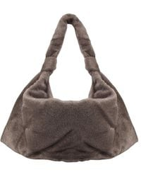 Lemaire Large Hairy Tote Bag - Multicolour