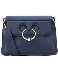 JW Anderson Pierce Medium Shoulder Bag - Blue