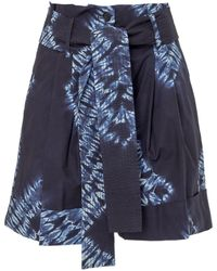 P.A.R.O.S.H. - S Tie Dye Shorts - Lyst