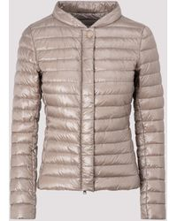 Herno Classic Padded Down Jacket - Natural