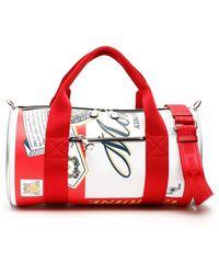 Moschino Budweiser Duffle Bag - Red