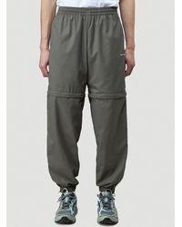 Balenciaga Detachable Track Trousers - Grey