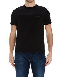 Herno Laminar Crewneck T-shirt - Black