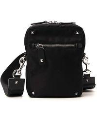 Valentino Garavani Rockstud Vltn Crossbody Bag - Black