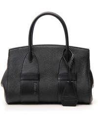 Miu Miu - Logo Top Handle Bag - Lyst