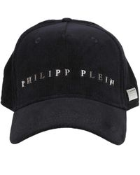 Philipp Plein Uac0123pte003n02 Cotton Hat - Black