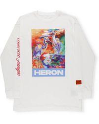 Heron Preston Sweaters - White
