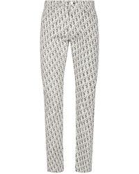 Dior Dior Oblique Slim-fit Jeans - Multicolour