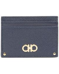 bdd4a4150c Ferragamo - Gancini Card Case - Lyst