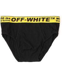 Off-White c/o Virgil Abloh Logo Waistband Briefs - Black