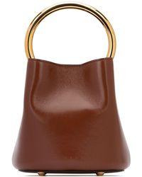 Marni Pannier Bucket Bag - Brown