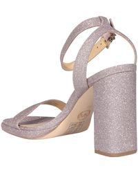 MICHAEL Michael Kors Ankle Strap Block-heel Sandals - Pink