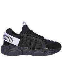 Moschino Teddy Sole Sneakers - Black