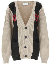 Telfar Oversized Buttoned Cardigan - Multicolour