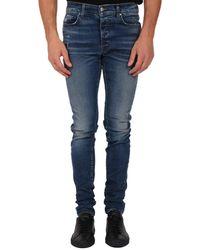 Amiri Stack Skinny Jeans - Blue
