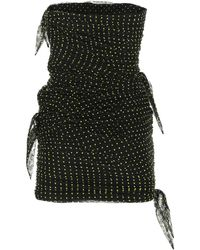 Philosophy Di Lorenzo Serafini Strapless Rouched Dress - Black