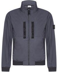 Stone Island - Zip-up Jacket - Lyst