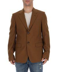 Marni Single Breasted Blazer - Brown