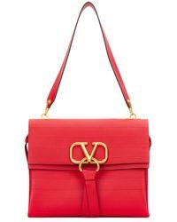 Valentino Vring Shoulder Bag - Red