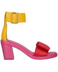 Comme des Garçons Ankle-strap Sandals - Yellow