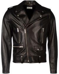 Saint Laurent - Asymmetric Zipped Jacket - Lyst