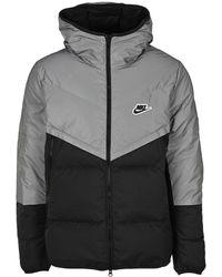 Nike Windrunner Down Jacket - Grey