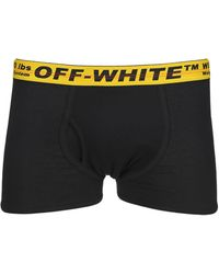 Off-White c/o Virgil Abloh Logo Waistband Boxers - Black