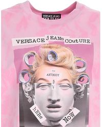 Versace Jeans Couture Capsule Collection Printed T-shirt - Pink
