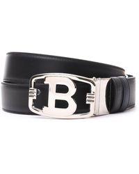 Bally - B Buckle Belt - Lyst