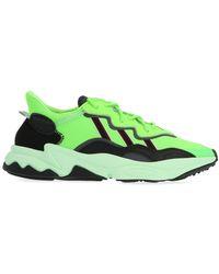 adidas Ozweego Trainers - Green