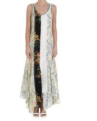 JW Anderson Panelled Sleeveless Dress - Multicolour