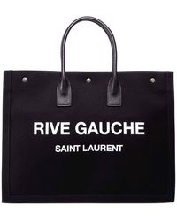 Saint Laurent Noe Rive Gauche Tote - Black