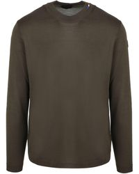 Moncler - Ribbed Knit Crewneck Sweater - Lyst
