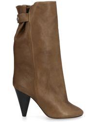 Isabel Marant - Lakfee Cone Heel Boots - Lyst