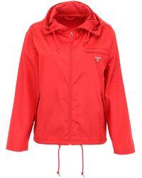 Prada Nylon Jacket - Red