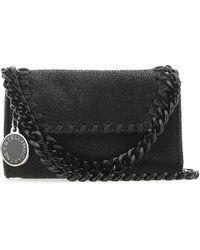Stella McCartney Falabella Micro Crossbody Bag - Black