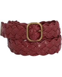 Philosophy Di Lorenzo Serafini Braided Belt - Red