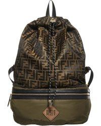 Fendi Fold-away Backpack - Multicolour