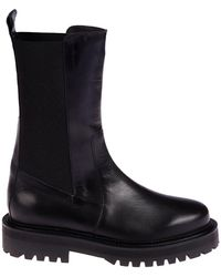 Marques'Almeida Army Ankle Boots - Black