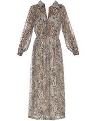 Zadig & Voltaire Reeva Lurex Shirt Dress - Multicolour