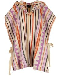 Isabel Marant Hooded Poncho - Pink