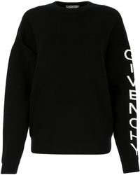 Givenchy Logo Knitted Jumper - Black