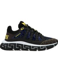 Versace Trigreca Sneakers - Black