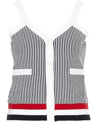 Thom Browne Ribbed Top - Multicolor